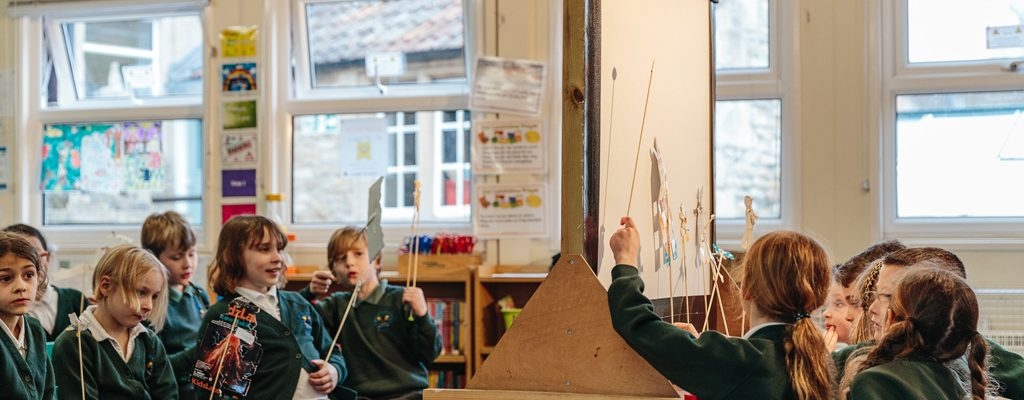 Theme Weeks at St Julian's Church School